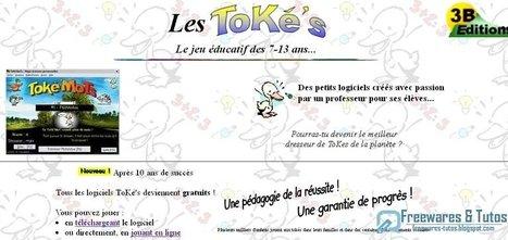 Les ToKé's : des logiciels éducatifs gratuits pour aider les enfants à apprendre en s'amusant (du CP au collège) | Time to Learn | Scoop.it