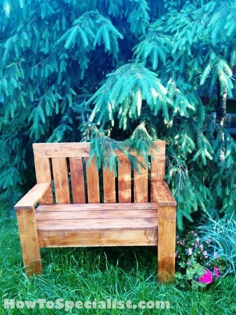 7 Porch Bench Plans | Free Porch Swing Plans - How To Build A Garden Swing | Garden Plans | Scoop.it
