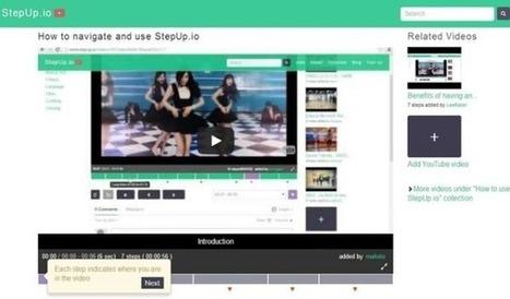StepUp: divide vídeos de YouTube gratis y sin instalaciones | Tutoriales | Scoop.it