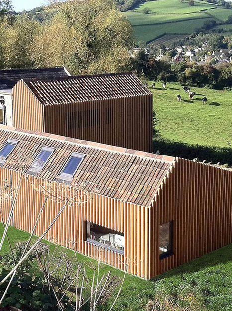 Farmhouse: a Collaboration of Rustic and Modern | sustainable architecture | Scoop.it