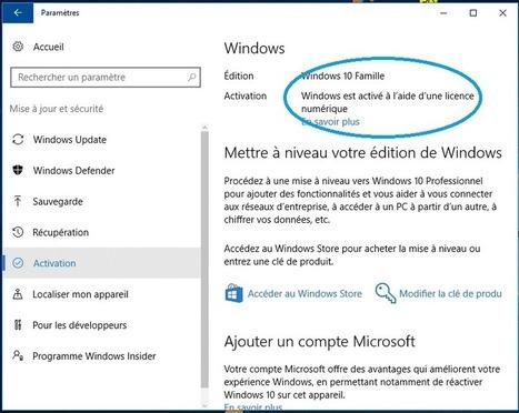 Windows 10 gratuit après le 29 juillet : c'est (encore) possible ! par AZAMOS. | Freewares | Scoop.it