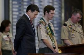 Texas Gov. Perry says Boy Scouts should keep no-gay policy, protect children from sexual exploitation and propaganda like Europe | News You Can Use - NO PINKSLIME | Scoop.it