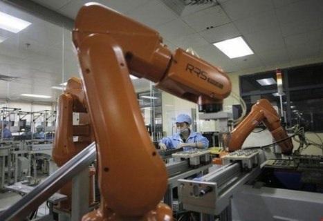 Foxconn has reportedly cut 60,000 jobs and replaced Human workers with Robots | Technology in Business Today | Scoop.it