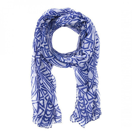 Audrey Blue Scarf | Affordable Jewelry | Scoop.it
