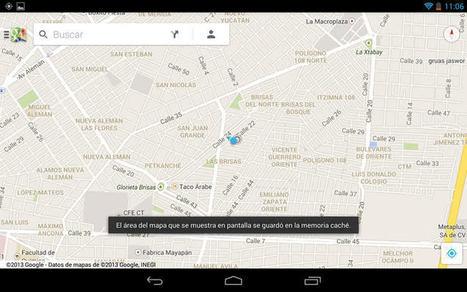 Usar mapas de Google sin conexión en Android e iOS | educacion-y-ntic | Scoop.it