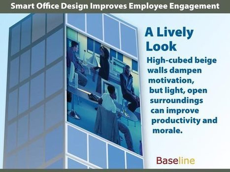 Smart Office Design Improves Employee Engagement | Internal Comms. Engaging people @ work | Scoop.it