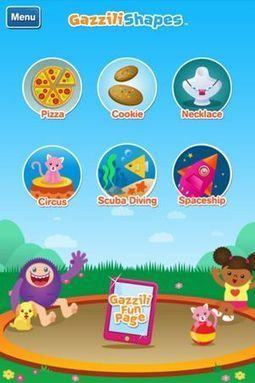 Gazzili Shapes - Highly Engaging Learning App for Toddlers and Pre-K - Fun Educational Apps: Top Apps for Kids Reviews! | Gamification of Learning | Scoop.it