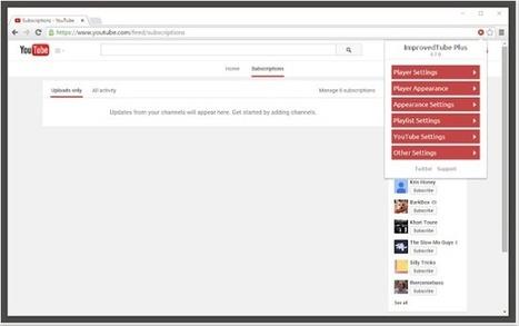 Cinco extensiones de Chrome para mejorar tu experiencia en YouTube | Competic | Scoop.it
