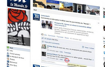 Facebook Launches New In-Line Translation Tool | Small Business Marketing | Scoop.it