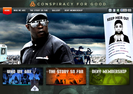 Tim Kring's Conspiracy For Good Storms London  by Bob Soderstrom | TV, new medias and marketing | Scoop.it