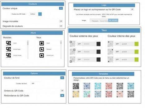 Générer un code QR avec Unitag - Les MédiaFICHES   Sens dessus dessous   Scoop.it