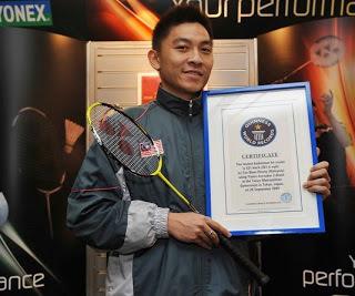 EL RECORD DEL SMASH MAS RAPIDO DEL MUNDO | Badminton el deporte de raqueta mas rápido del mundo | Scoop.it