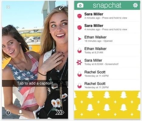 Snapchat, ce n'est que le début : Comment l'appli de l'éphémère devient un média, en 9 points | Social media | Scoop.it