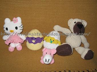 BLOG DE TEJIDOS ARTESANALES CVDN´S: AMIGURUMIS   Tejido al crochet   Scoop.it