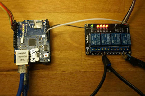 Arduino relay control over the internet | Raspberry Pi | Scoop.it