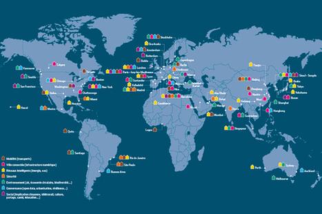 Carte : 67 villes qui osent l'intelligence | Smart City | Scoop.it