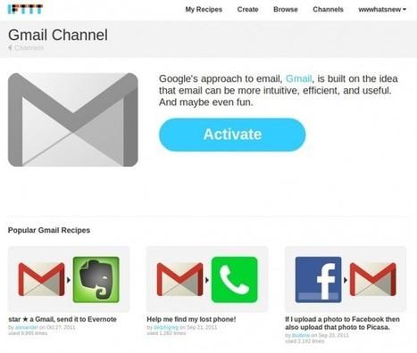 IFTTT se integra con Gmail para configurar alertas que se disparan al recibir correos o poner estrellas   ebookPC   Scoop.it