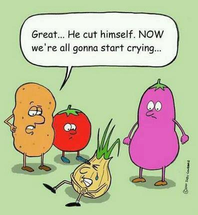 Onions might make you cry | Garden Humor | Scoop.it