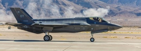 F-35 Fighter Jet Gets Splunk Software Support | Splunk - IT Operations and Business Intelligence | Scoop.it
