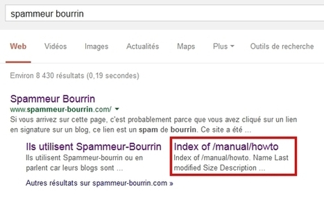 Google sitelinks: toujours aussi confus | SEM Strategy - E-commerce - E-Marketing | Scoop.it