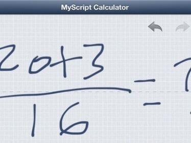 MyScript Calculator | Apple | Scoop.it