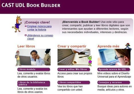 Aprendiendo a crear libros digitales accesibles | Tools, Tech and education | Scoop.it