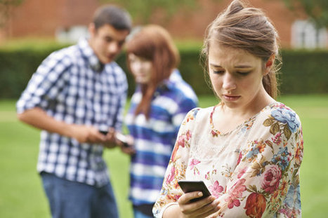 How Texting (Yes, Texting) Can Save Teens In Trouble | Psychology of Media & Emerging Technologies | Scoop.it