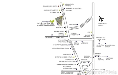 Regrob | 3 BHK Apartments for sale in Welworth City Yelahanka Bangalore | Real Estates Property | Scoop.it