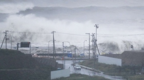 VIDEO. Japon: Un typhon se dirige vers le nord-est du pays, sinistré par le tsunami de 2011 | Planete DDurable | Scoop.it