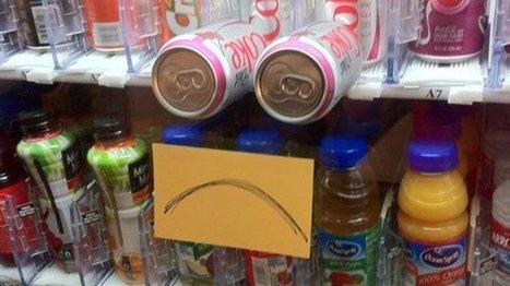 No Snack For You: 20 Vending Machine Fails | Vending Machines | Scoop.it
