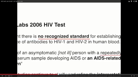 HIV Tests do not test for anything - the proof is on the package inserts | Health Supreme | Scoop.it