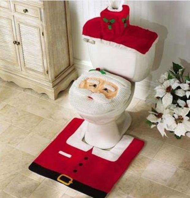 [Insolite] Déco WC : Père Noël ! | La Revue de Technitoit | Scoop.it