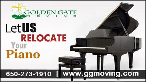 Long Distance Piano Movers in San Francisc | Golden Gate Moving Services | Scoop.it