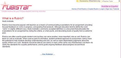 What is a Rubric? | Linguagem Virtual | Scoop.it