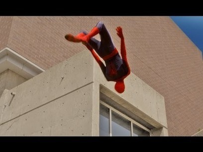 The Amazing Spider-Man Parkour - YouTube | Winning The Internet | Scoop.it