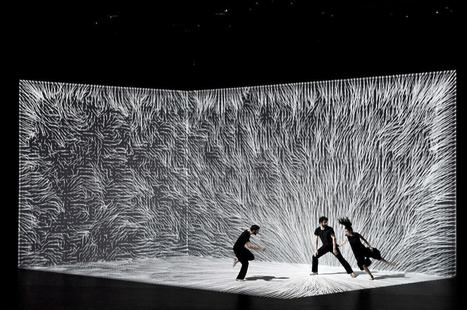 The Movement of Air: A New Dance Performance Incorporating Interactive Digital Projection from Adrien M & Claire B | DigitAG& journal | Scoop.it