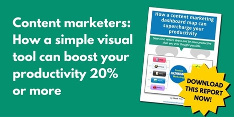 Content marketers: Dashboard mind map is productivity booster | Medic'All Maps | Scoop.it