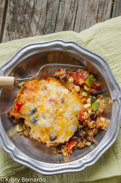 Mexican Quinoa Casserole | | Food for Foodies | Scoop.it