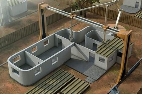 Een huis bouwen in één dag? Het kan met een 3D-printer voor cement - Freshgadgets.nl | Voorsprong door innovatie | Scoop.it