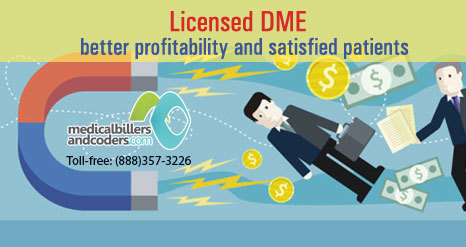 How can a Licensed DME Offer a Leverage Over other DME? | Medical Billing Services | Scoop.it