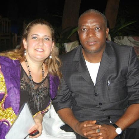 Avec le ministre du tourisme pour la soirée Kanya Voyage du 17 novembre. | TOURISME GUINEE | Scoop.it