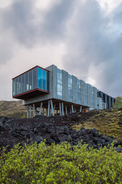 Between Northern Lights, Hot Springs and Glaciers : ION Hotel in Iceland - Pursuitist | Architecture and Architectural Jobs | Scoop.it
