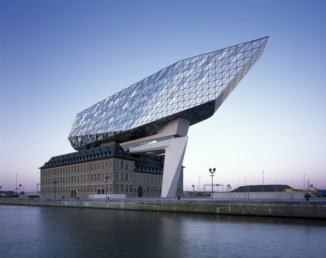 Antwerp Port House / Zaha Hadid Architects | The Architecture of the City | Scoop.it