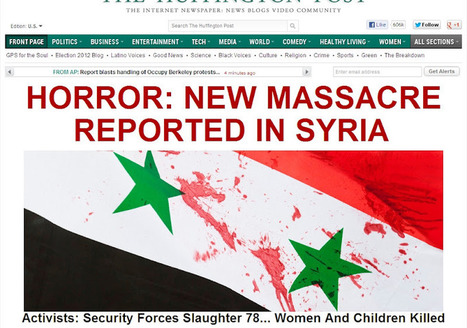 Blatant #Corporate #Media #Propaganda Inciting Hatred of #Syria to Justify Intervention | Commodities, Resource and Freedom | Scoop.it