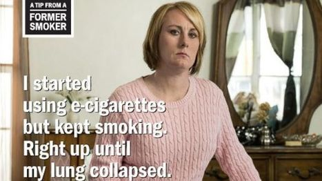 CDC Does 1st Anti-Smoking Ad Citing E-Cigarettes | Smart E-Cigs and Vapor News | Scoop.it