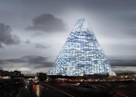 París: la Torre Triángulo, vista desde el mero México | The Architecture of the City | Scoop.it
