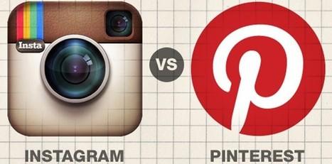 Pinterest vs Instagram: differenze e utilizzo in ottica marketing. Come li usano nel Pharma? | Digital | Scoop.it