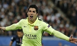 PSG 1-3 Barça: Barcelona dazzle PSG as Luis Suárez brilliance lights up Paris - The Guardian | AC Affairs | Scoop.it