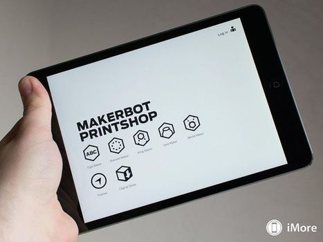Makerbot développe une nouvelle application iPad pour transformer vos dessins en impression 3D | Ressources pour la Technologie au College | Scoop.it
