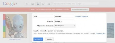 Comment ajouter un pseudo à son profil Google+ | Ballajack | Image Digitale | Scoop.it